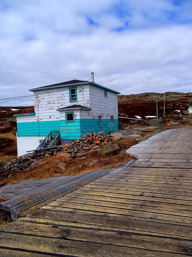 Κάτω Βόρεια Ακτή, Χωριό Harrington Harbor στοκ φωτογραφίες
