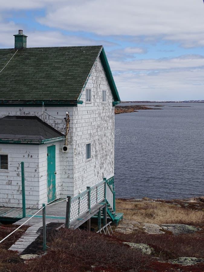 Κάτω Βόρεια Ακτή, Χωριό Harrington Harbor στοκ εικόνες