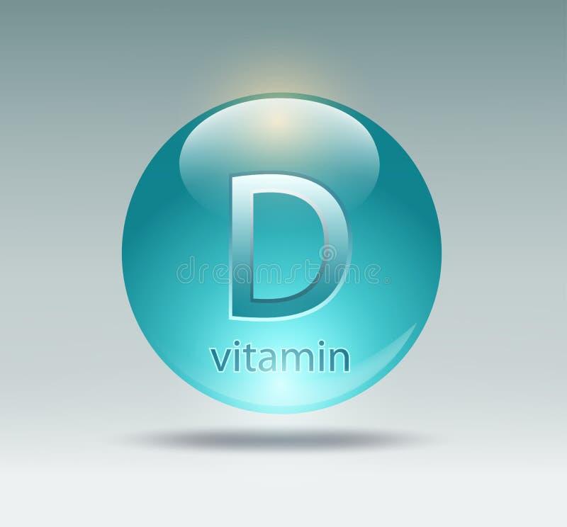 Κάψα με τη βιταμίνη d ελεύθερη απεικόνιση δικαιώματος