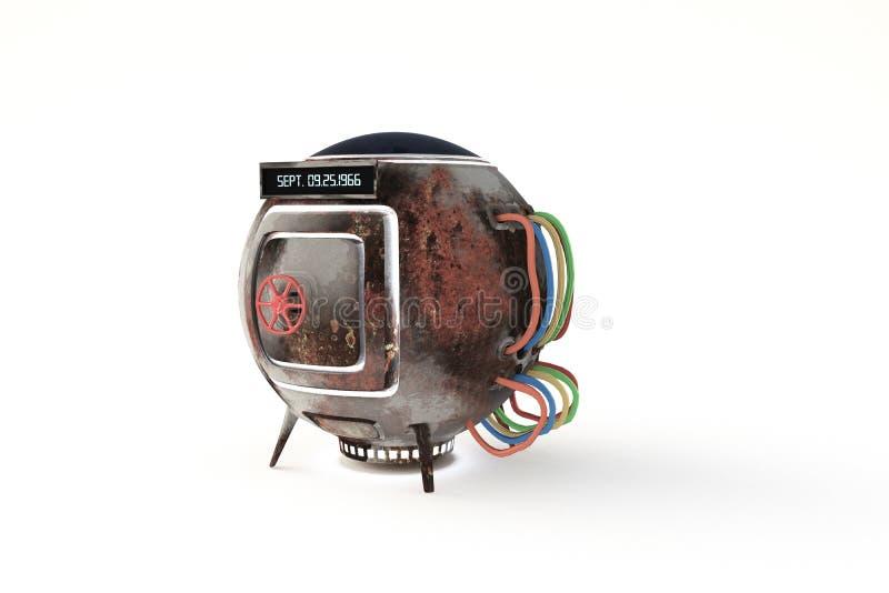Κάψα χρονικών μηχανών ελεύθερη απεικόνιση δικαιώματος