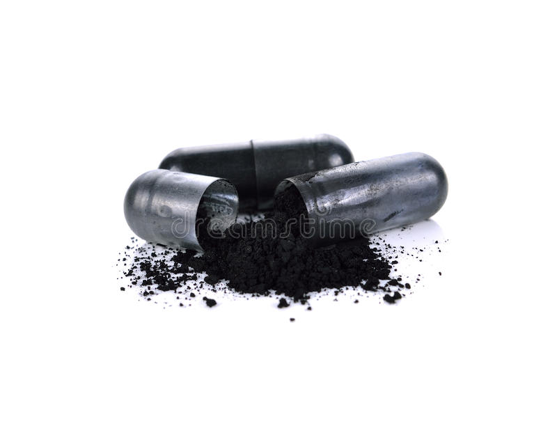 Κάψες ξυλάνθρακα στοκ εικόνα με δικαίωμα ελεύθερης χρήσης