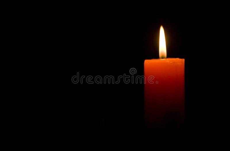 Κάψιμο κεριών στοκ φωτογραφία