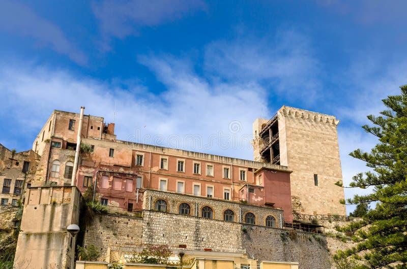 Κάλιαρι, πύργος SAN Pancrazio στοκ εικόνα