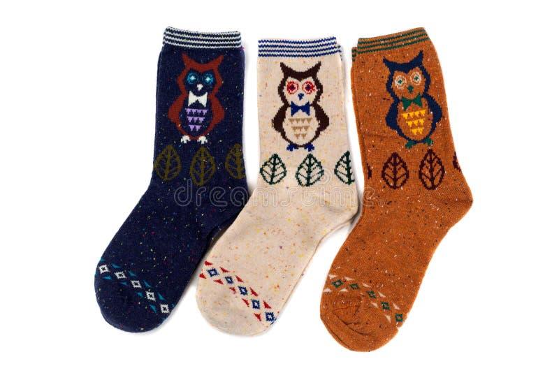 Κάλτσες με το σχέδιο στοκ φωτογραφία με δικαίωμα ελεύθερης χρήσης