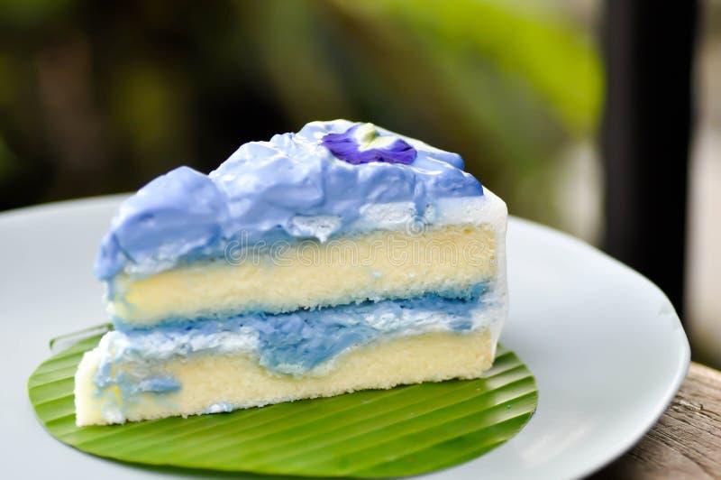 Κέικ ή κέικ μπιζελιών πεταλούδων στοκ φωτογραφία
