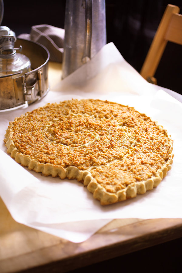 κέικ αμυγδάλων παραδοσιακό στοκ εικόνα