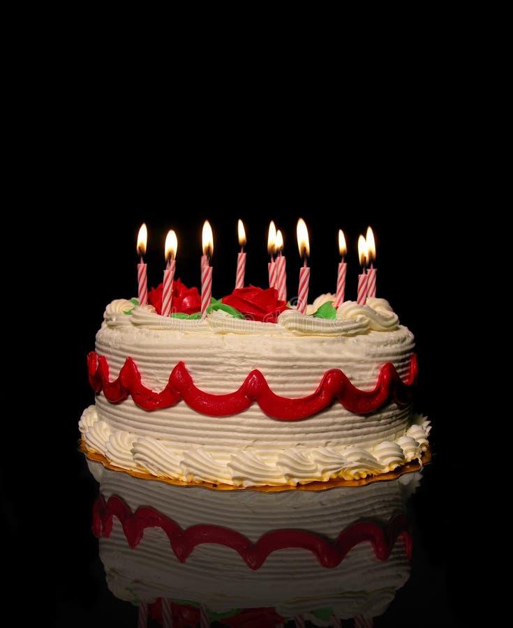 Download κέικ γενεθλίων στοκ εικόνα. εικόνα από λίπος, απολαύστε - 396675