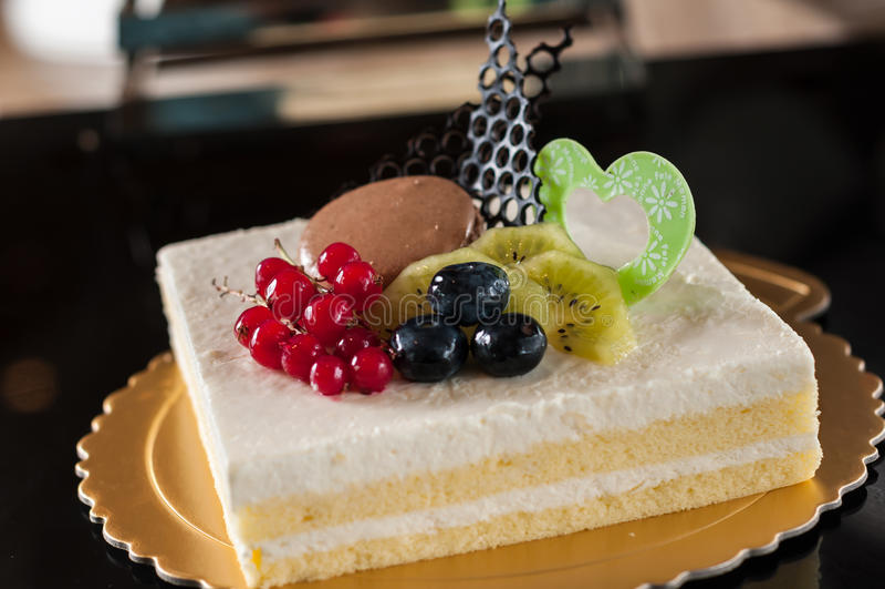 Κέικ γιαουρτιού στοκ φωτογραφίες
