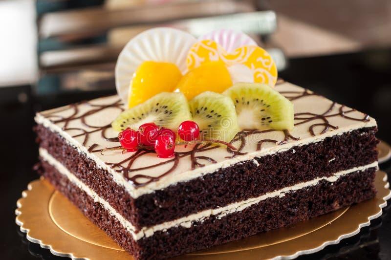 Κέικ διαβόλων στοκ εικόνα