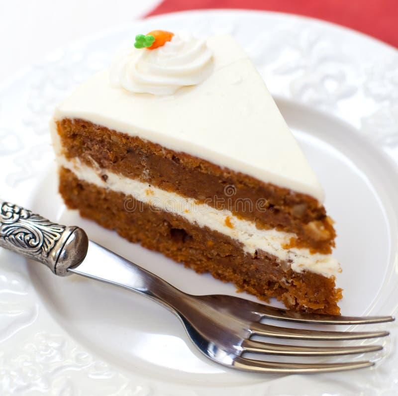 Κέικ καρότων στοκ φωτογραφίες με δικαίωμα ελεύθερης χρήσης