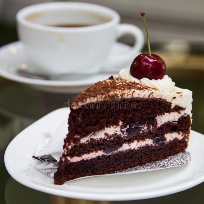 Κέικ καφέ στοκ εικόνα με δικαίωμα ελεύθερης χρήσης