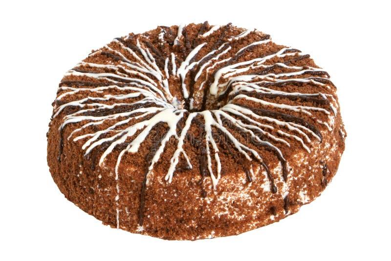 Download Κέικ κρέμας με τη σοκολάτα στοκ εικόνα. εικόνα από σκοτεινός - 17050575
