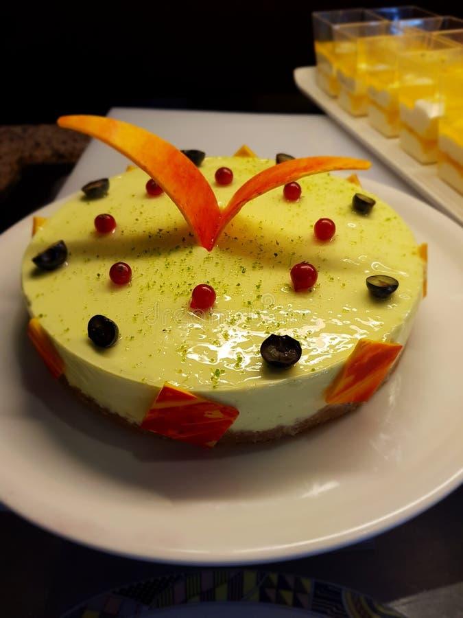 Κέικ μάγκο musse στοκ φωτογραφίες με δικαίωμα ελεύθερης χρήσης