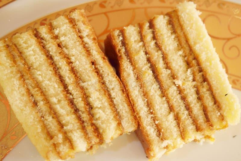 Κέικ μαρμελάδας ανανά στοκ εικόνες με δικαίωμα ελεύθερης χρήσης