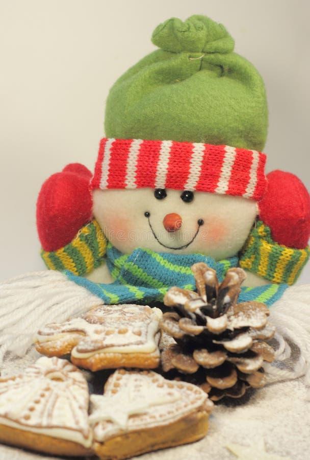 Κέικ μελιού Χριστουγέννων στοκ εικόνα
