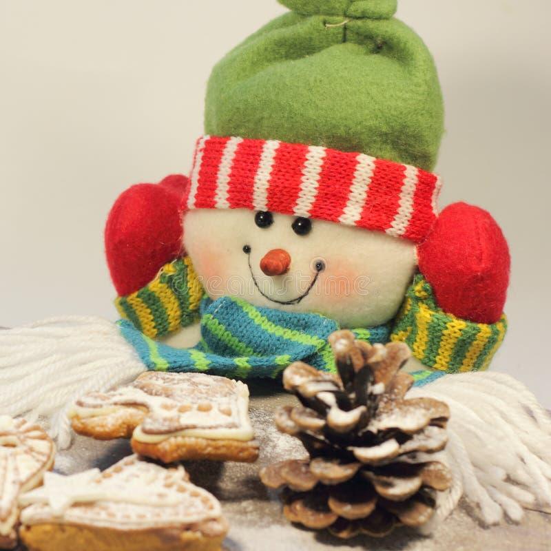 Κέικ μελιού Χριστουγέννων στοκ εικόνα με δικαίωμα ελεύθερης χρήσης