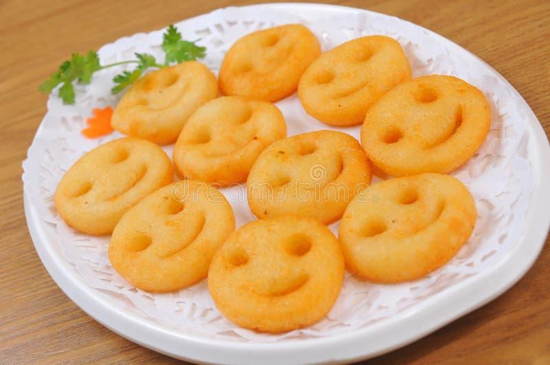 Κέικ πατατών στοκ εικόνες