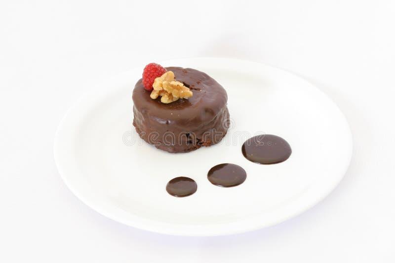 Κέικ σοκολάτας Δωρεάν Στοκ Εικόνα