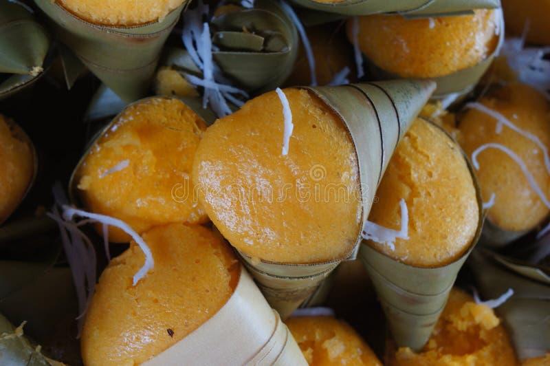 Κέικ φοινικών χυμού φοινικόδεντρου στοκ εικόνες
