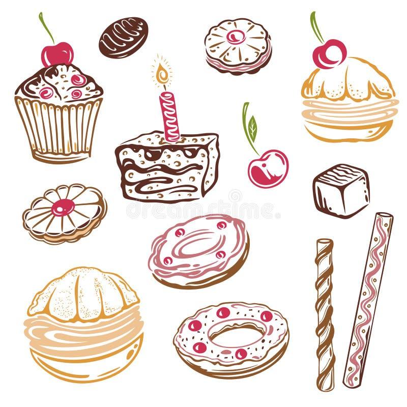 Κέικ, muffins ελεύθερη απεικόνιση δικαιώματος