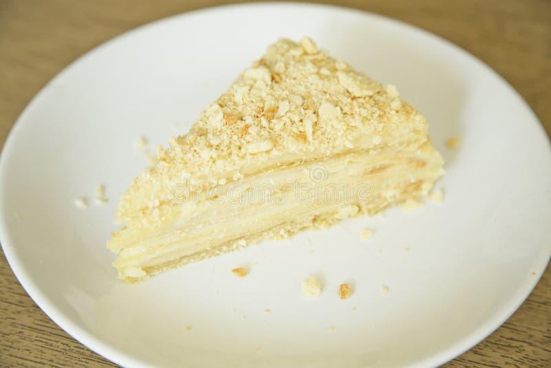 κέικ napoleon στοκ φωτογραφίες με δικαίωμα ελεύθερης χρήσης