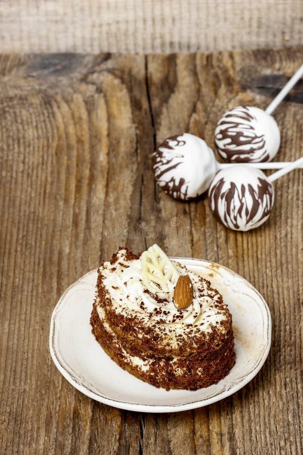 Κέικ Tiramisu στοκ εικόνες