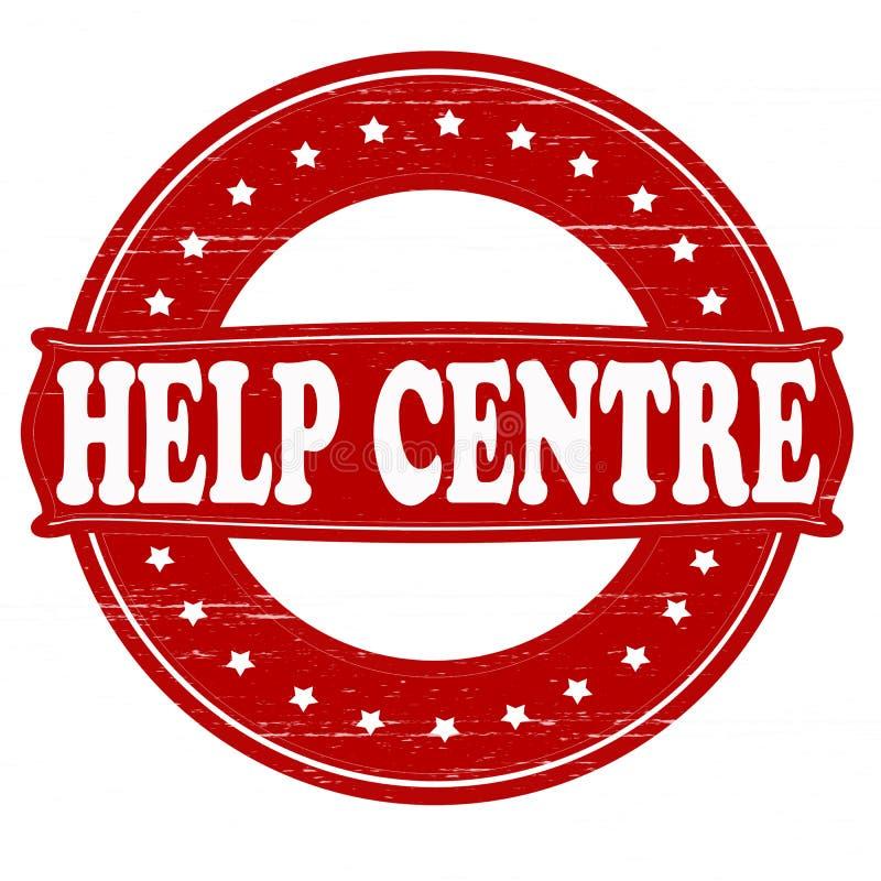 Κέντρο βοήθειας διανυσματική απεικόνιση