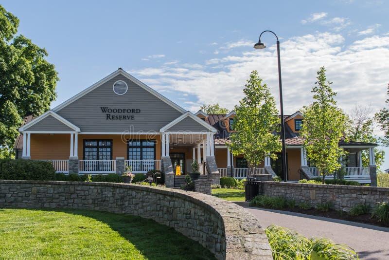 Κέντρο επισκεπτών οινοπνευματοποιιών επιφύλαξης Woodford στοκ εικόνες