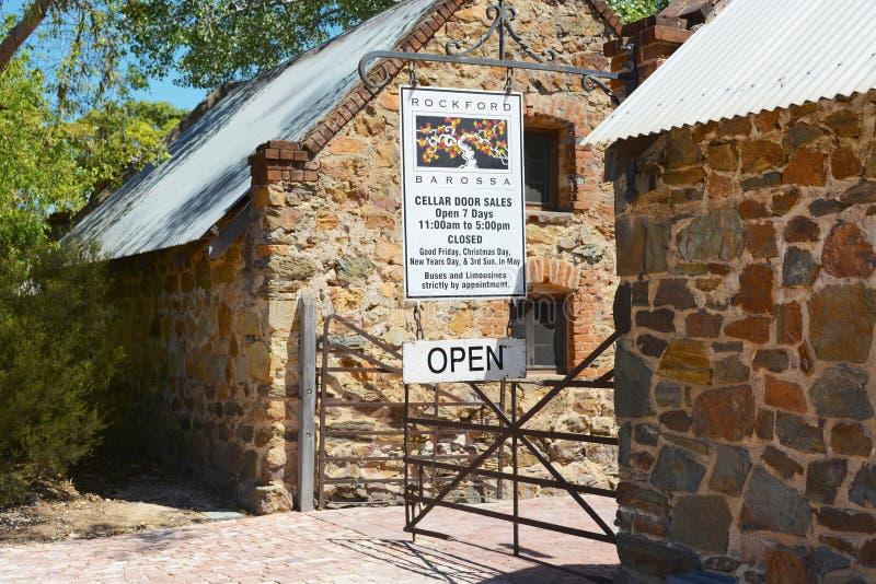 Κέντρο επισκεπτών πορτών κελαριών κρασιών του Ρόκφορντ στοκ φωτογραφίες