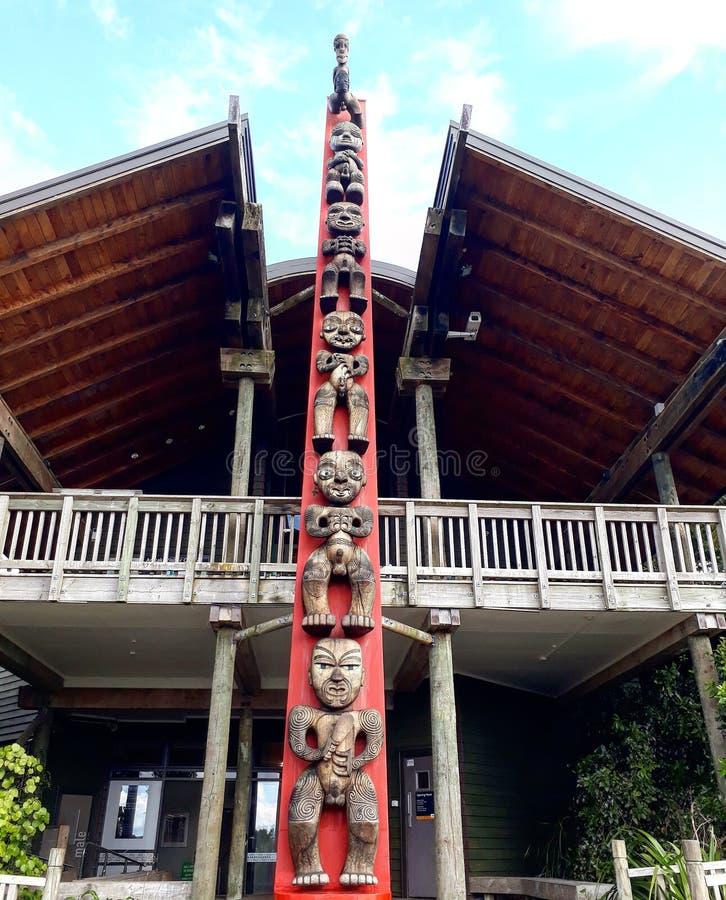 Κέντρο επισκεπτών Arataki στοκ εικόνες με δικαίωμα ελεύθερης χρήσης