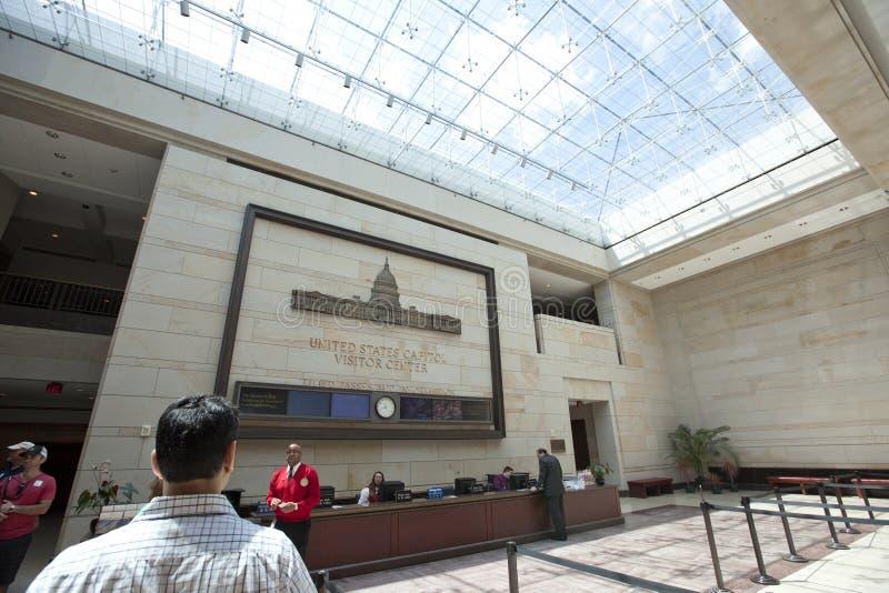 Κέντρο Ηνωμένων Capitol επισκεπτών στοκ εικόνα