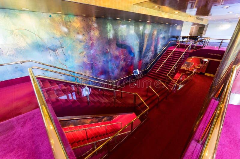 Κέντρο Μελβούρνη τεχνών στοκ φωτογραφία με δικαίωμα ελεύθερης χρήσης
