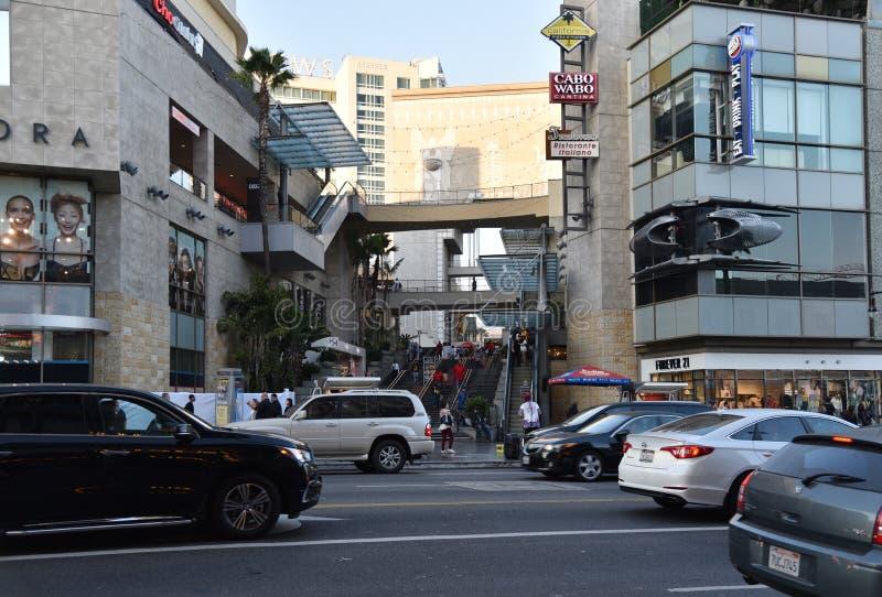 Κέντρο ορεινών περιοχών Hollywood στο Λος Άντζελες στοκ εικόνες με δικαίωμα ελεύθερης χρήσης