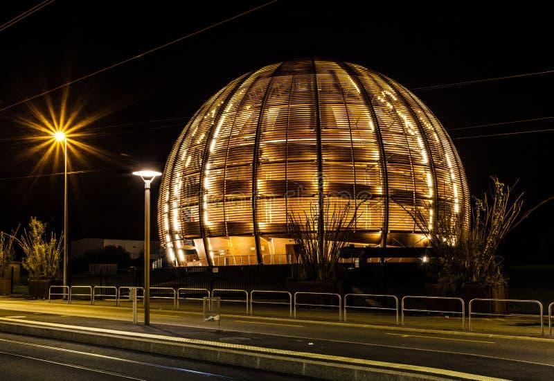 Κέντρο Πυρηνικών Μελετών και Ερευνών (CERN) στοκ φωτογραφία