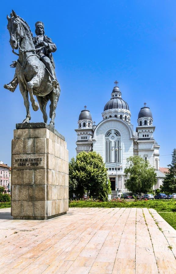 Κέντρο πόλεων Mures Targu στοκ εικόνες με δικαίωμα ελεύθερης χρήσης