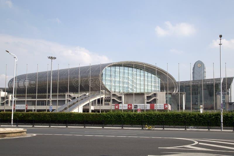 Κέντρο συμβάσεων και έκθεσης Guangzhou στοκ εικόνα