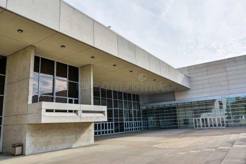 Κέντρο Συνθηκών της Kay Bailey Hutchison στο Ντάλλας, TX στοκ εικόνα με δικαίωμα ελεύθερης χρήσης