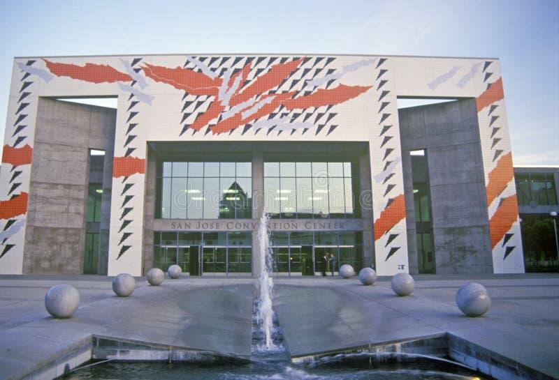 Κέντρο Συνθηκών του San Jose, Καλιφόρνια στοκ φωτογραφίες με δικαίωμα ελεύθερης χρήσης
