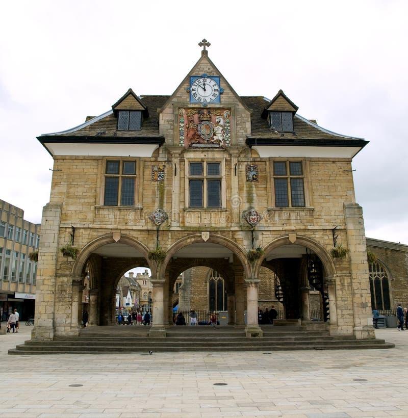 Κέντρο της πόλης Peterborough στοκ φωτογραφία με δικαίωμα ελεύθερης χρήσης
