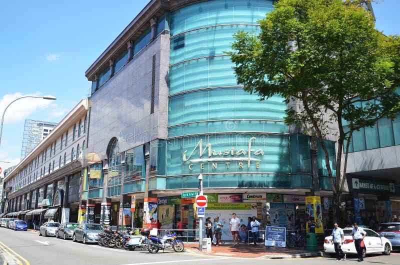 Κέντρο του Mustafa την σε λίγη Ινδία στη Σιγκαπούρη στοκ φωτογραφία
