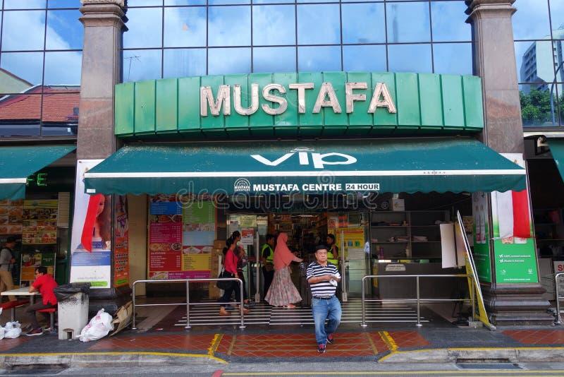 Κέντρο του Mustafa την σε λίγη Ινδία στη Σιγκαπούρη στοκ φωτογραφία με δικαίωμα ελεύθερης χρήσης