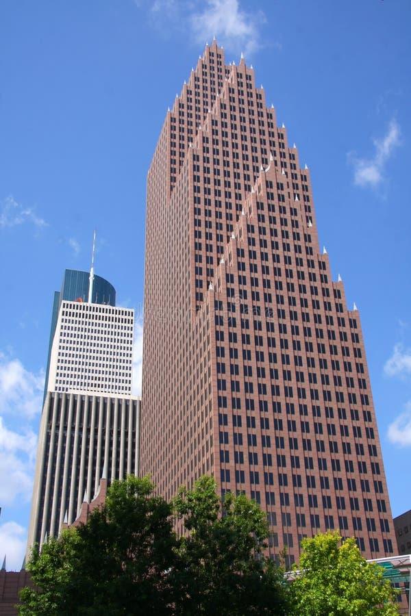 κέντρο Χιούστον τραπεζών της Αμερικής στοκ εικόνα