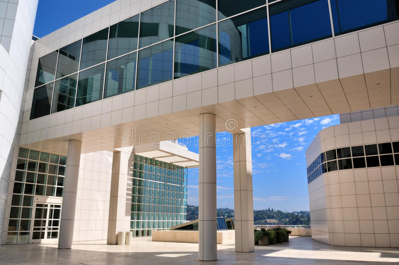 κέντρο getty Los της Angeles calif στοκ εικόνες με δικαίωμα ελεύθερης χρήσης
