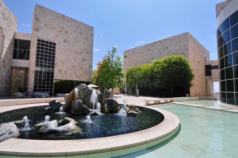 κέντρο getty Los της Angeles calif στοκ φωτογραφίες