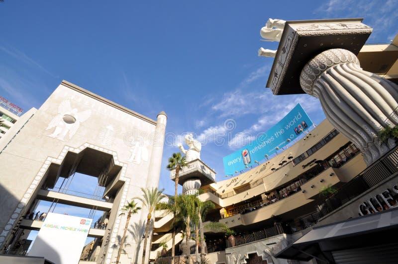κέντρο hollywood που ψωνίζει στοκ εικόνες
