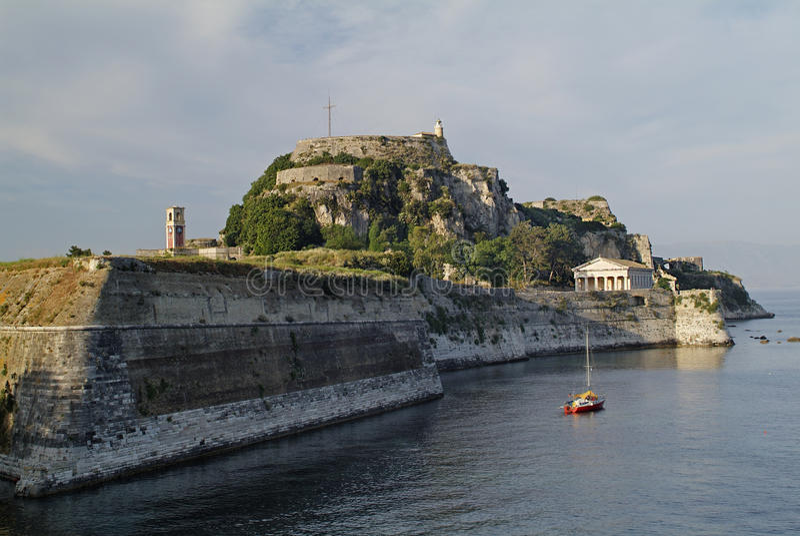 Κέρκυρα Ελλάδα στοκ εικόνα