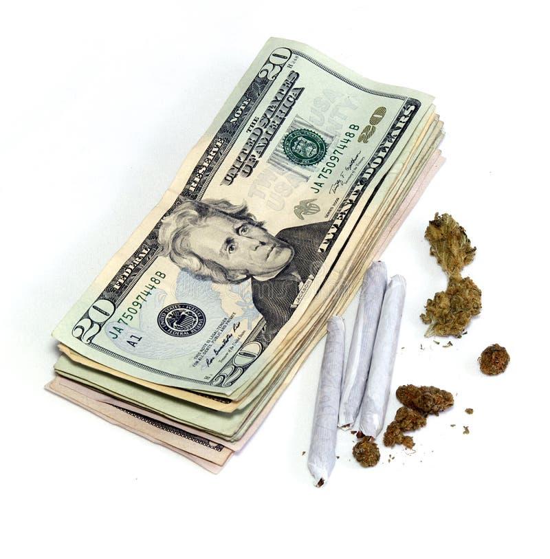 Κέρδος από την ιατρική μαριχουάνα στοκ εικόνες