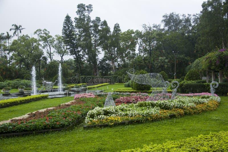 Κήποι κατοικιών της Ταϊπέι Shilin και bandstand στοκ φωτογραφίες