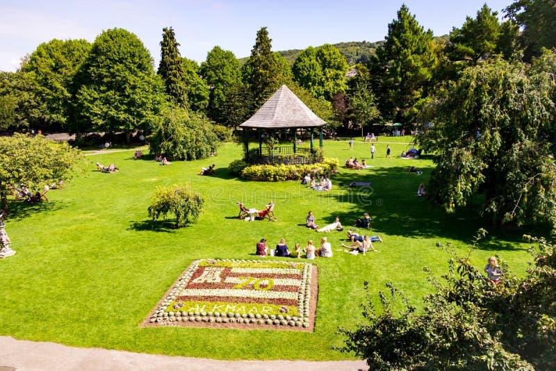 Κήποι παρελάσεων, λουτρό, UK στοκ φωτογραφία με δικαίωμα ελεύθερης χρήσης