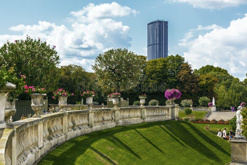 Κήποι του Λουξεμβούργου στο Παρίσι στοκ φωτογραφία με δικαίωμα ελεύθερης χρήσης